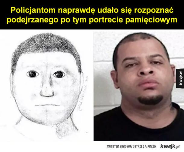 Najbardziej (nie)przydatne policyjne portrety pamięciowe