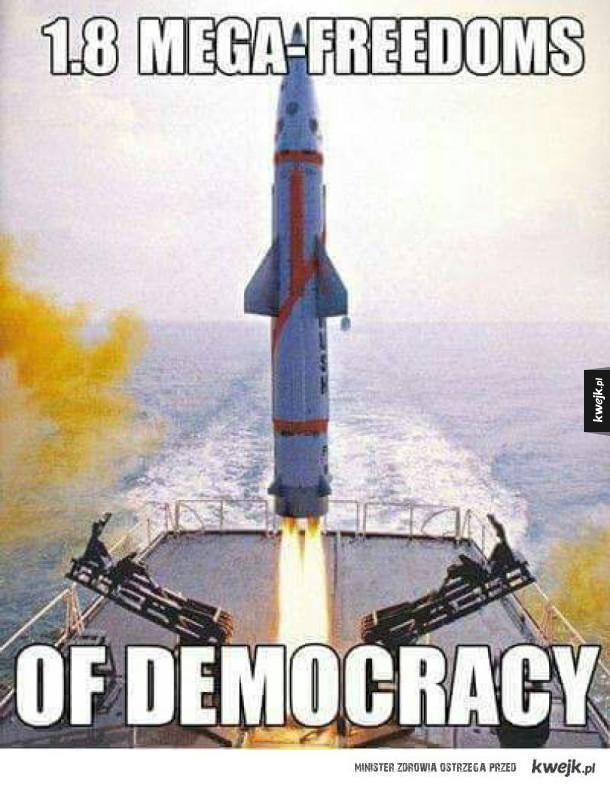 Demokracja leci!