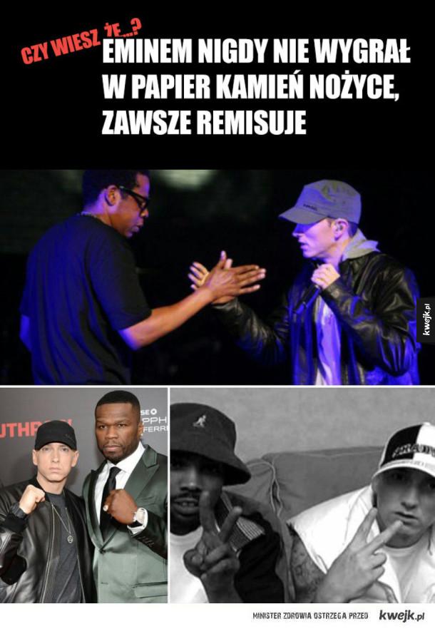 Ciekawostka o Eminemie