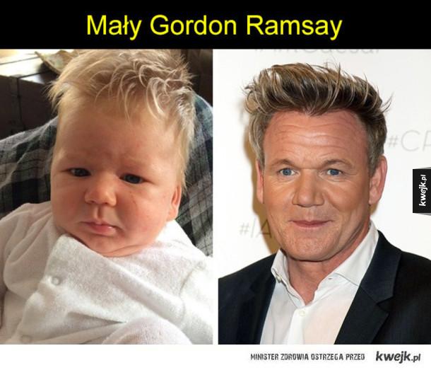 Dzieciaki, które wyglądają identycznie jak celebryci