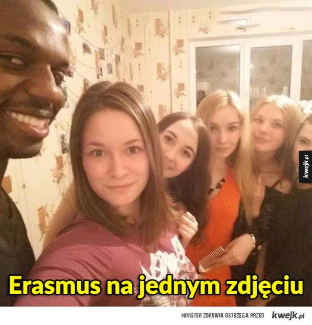 Erasmus na jednym zdjęciu
