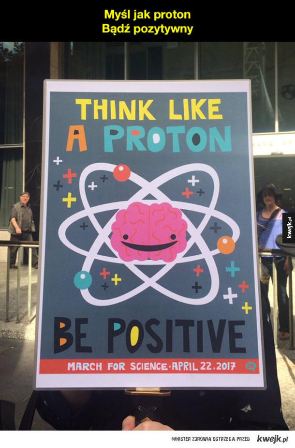 Najlepsze transparenty z protestów w obronie nauki