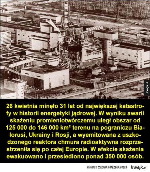 31 lat po katastrofie w Czarnobylu