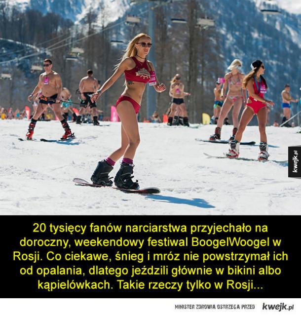 BoogelWoogel - nietypowa, narciarska impreza w Rosji