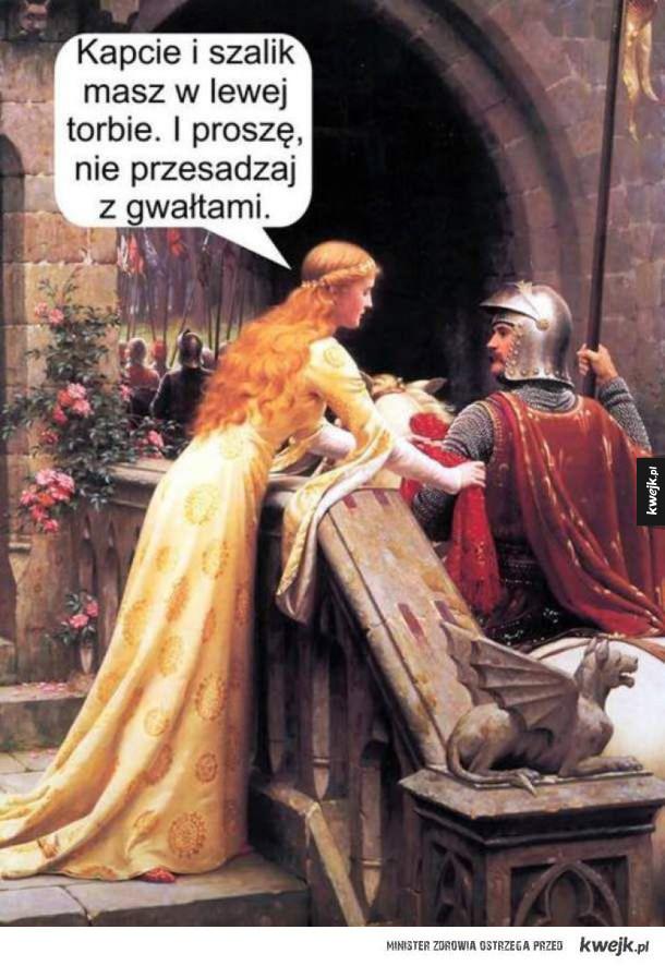 Troskliwa żona