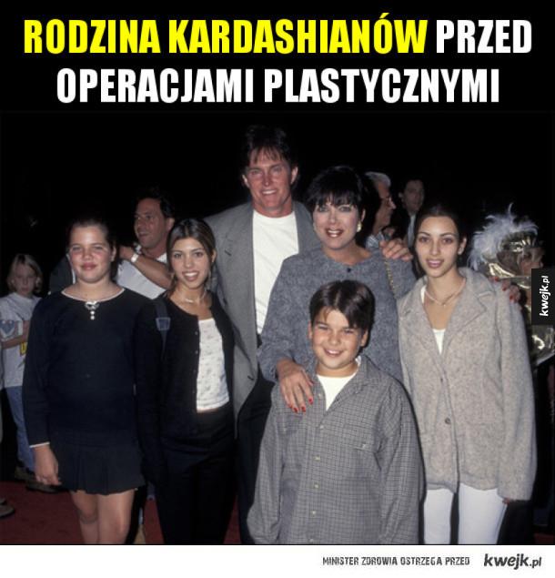 Kardashianowie kiedyś