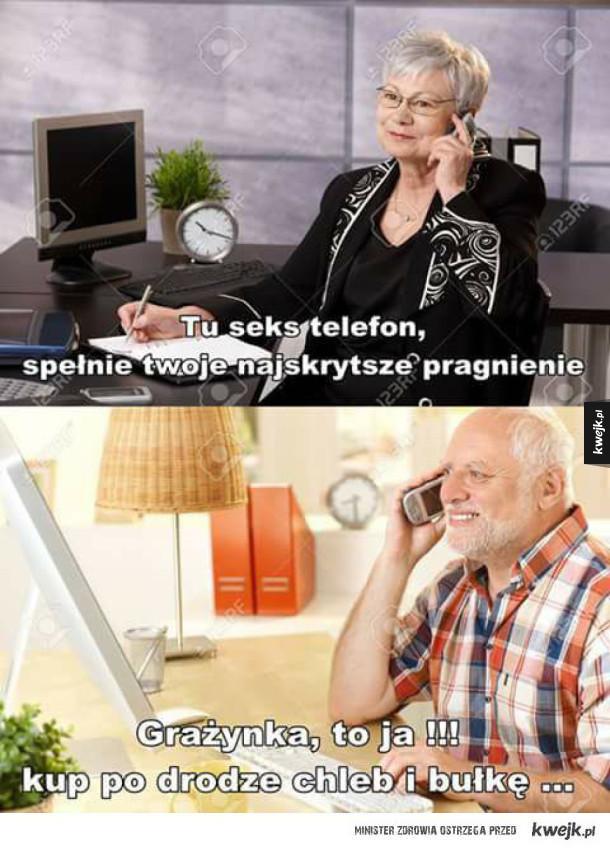 Dziwny Pan telefonuje