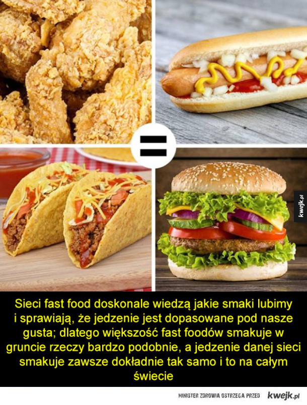 Sekrety sieci fast food