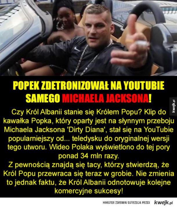 Nowy król Popu! xD