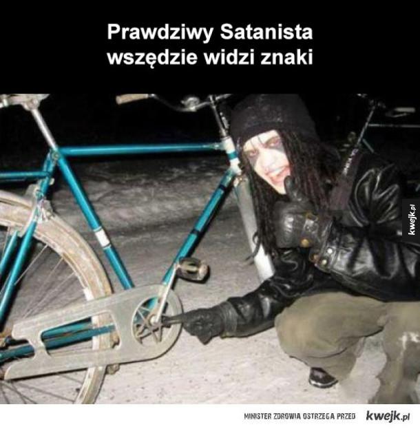prawdziwy satanista