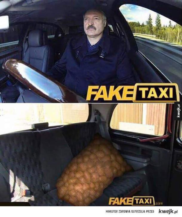 Taksówka na Białorusi