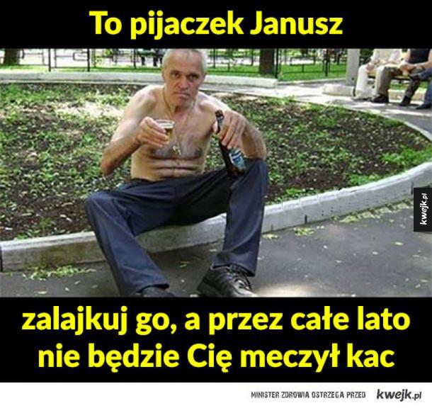 Janusz pijaczek