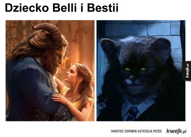 Dziecko Belli i Bestii Piękna i bestia