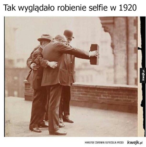 Selfie w przeszłości