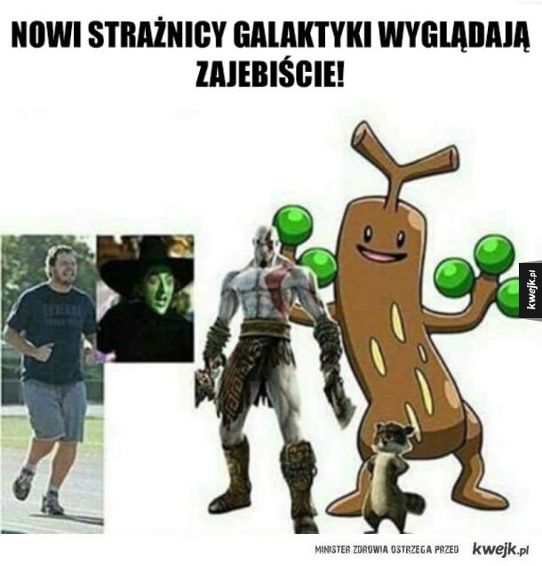 Nowi strażnicy galaktyki wyglądają zajebiście