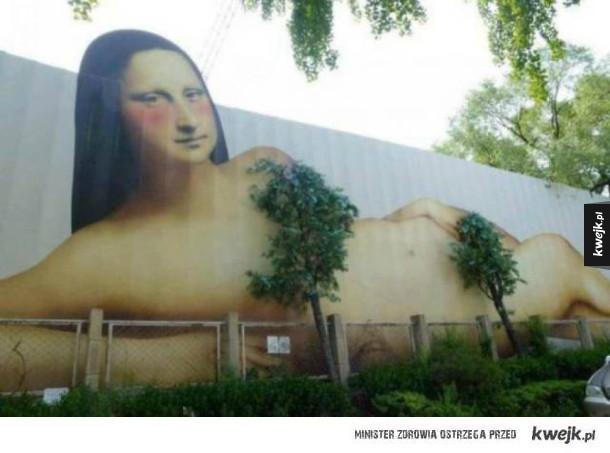 Gdy street art i natura idą ramię w ramię