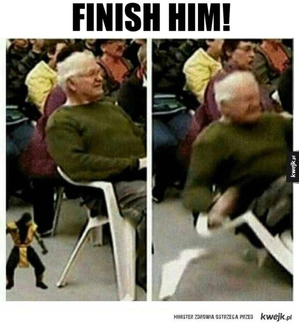 Mortal Kombat na żywo