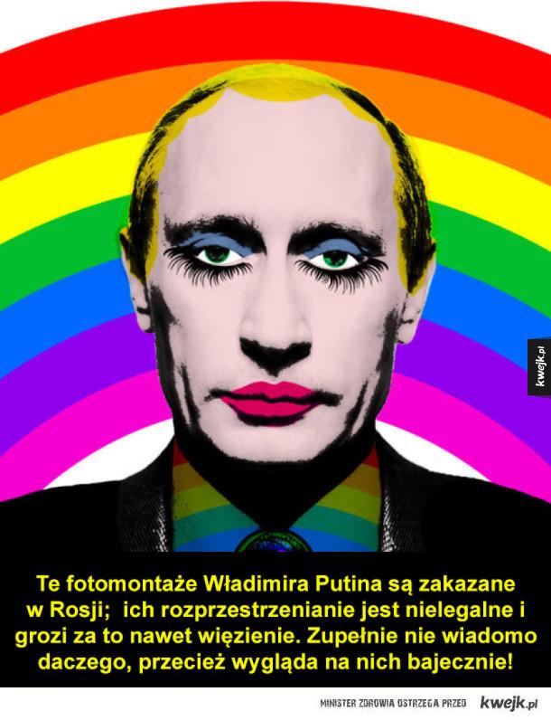 Zakazane zdjęcia Putina