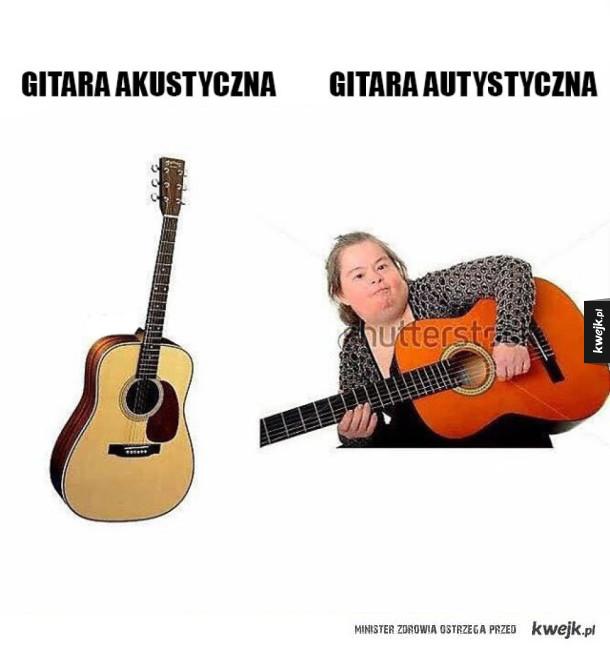 Dwa rodzaje gitar