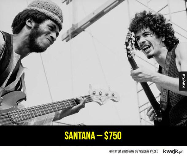 Ile gwiazdy zarobiły na pierwszym Woodstocku w 1969