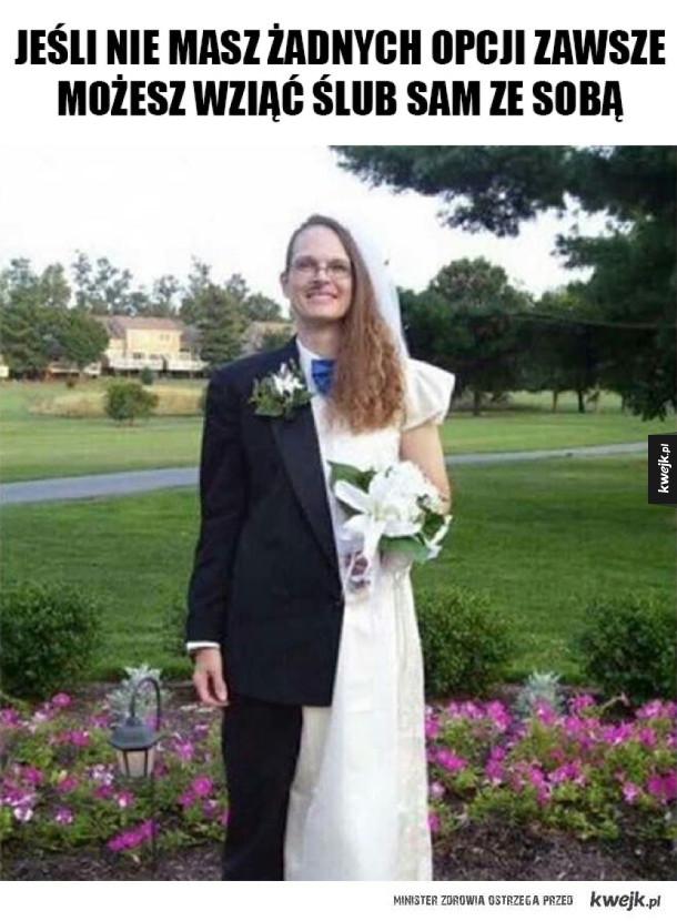 Ślub z ukochaną osobą
