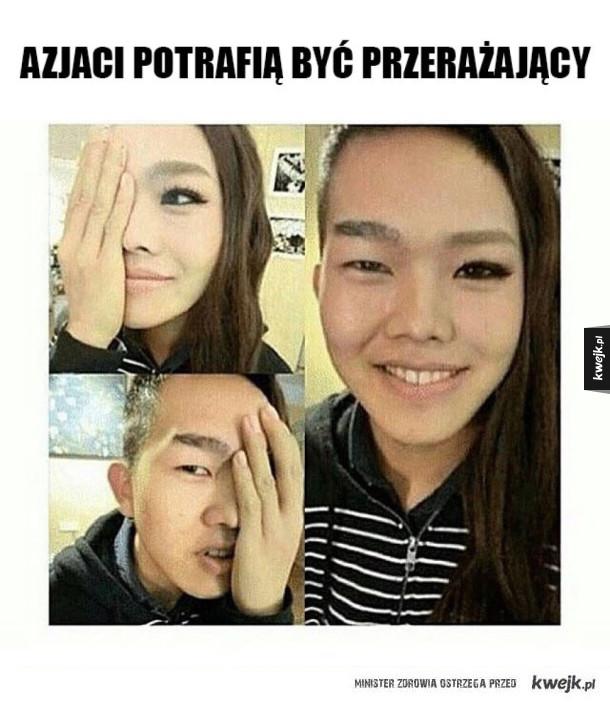 Azjaci są przerażający