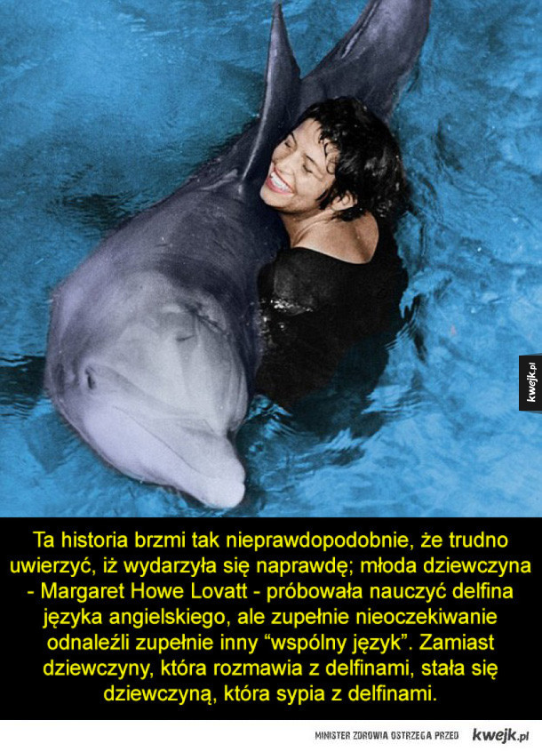 Tragiczna historia miłości delfina do dziewczyny