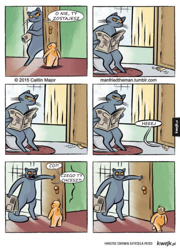 Gdyby ludzie i koty zamienili się miejscami