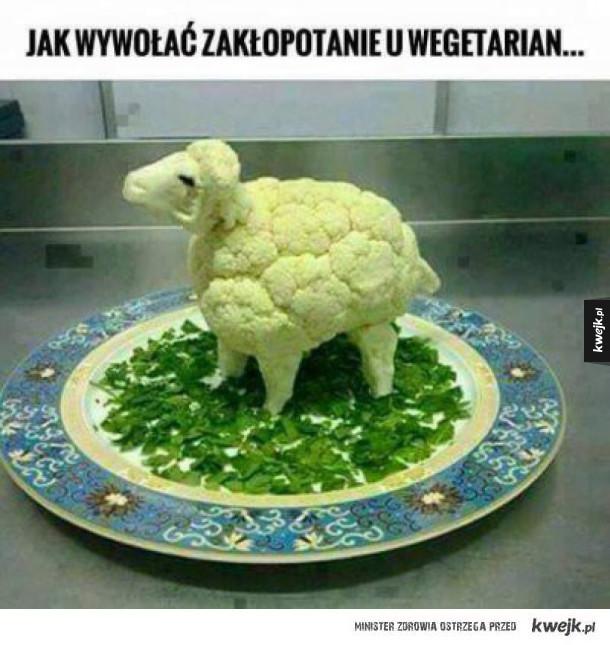 Jak wywołać zakłopotanie u wegetarianina