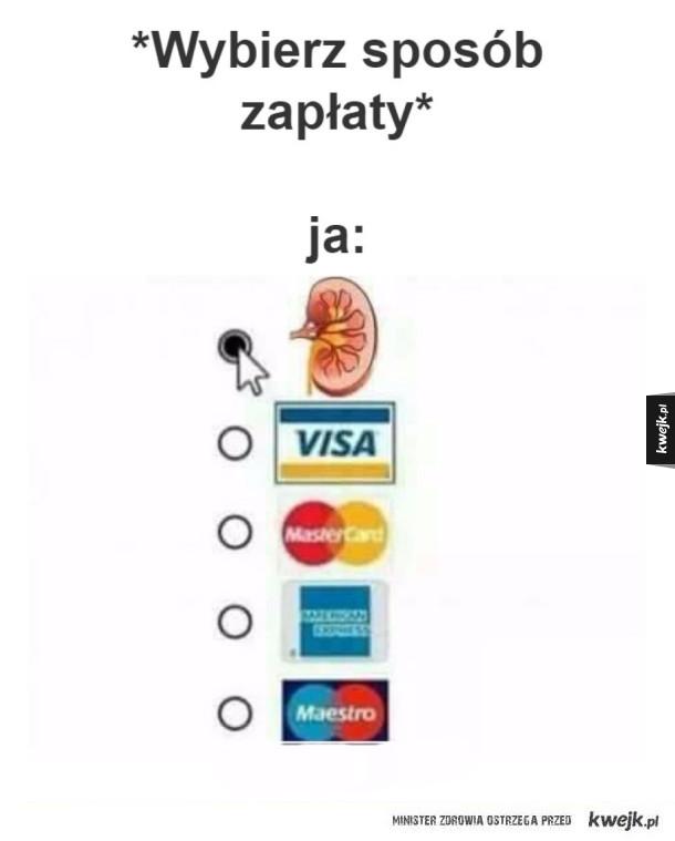 Sposób zapłaty