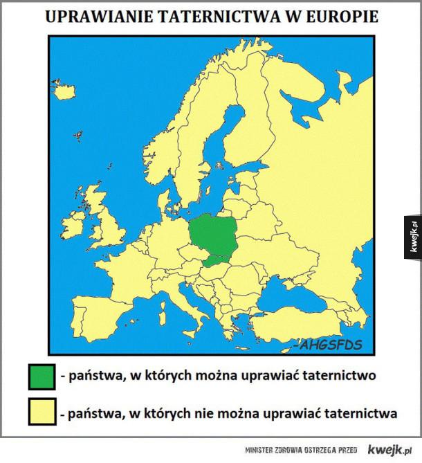 Taternictwo w europie