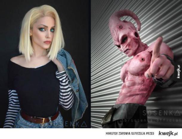 Niesamowite charakteryzacje polskiej cosplayerki Sosenki