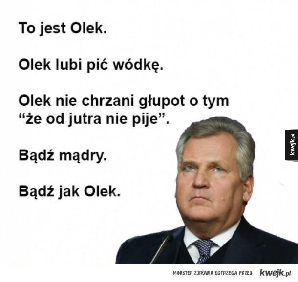 To jest Olek