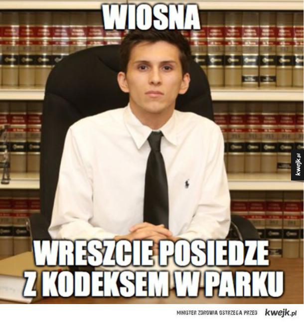 Studenci prawa się szykują