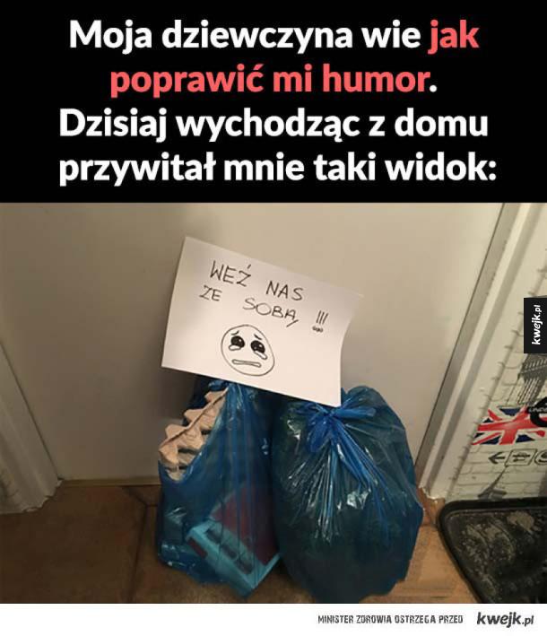 Jak poprawić humor