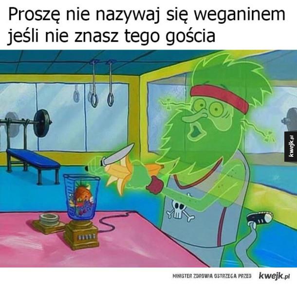 Prawdziwy weganin