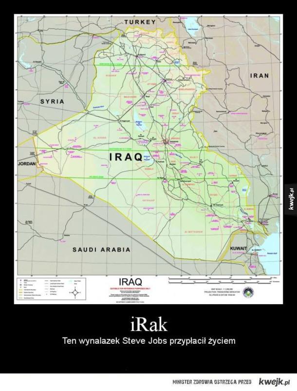 Irak - tak było