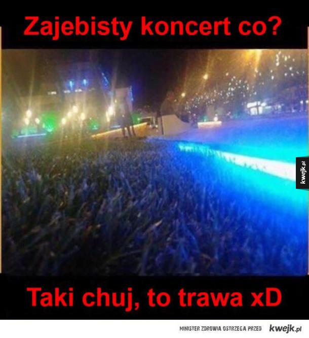 zajebisty koncert