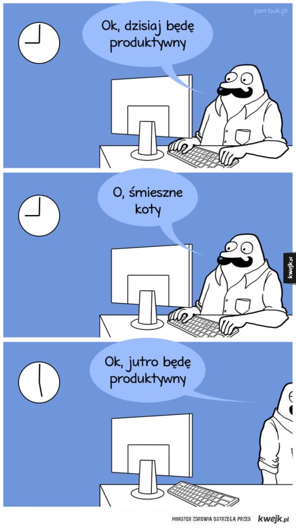 Dzisiaj będę produktywny