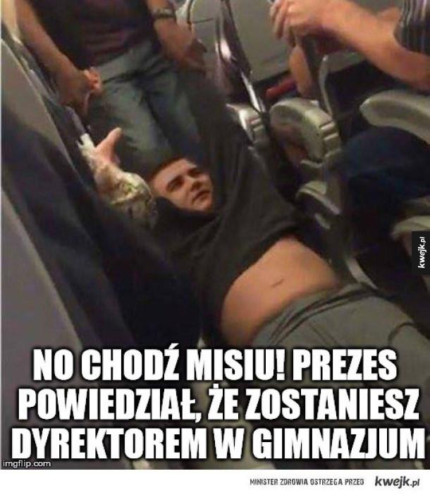Misiewicz odpaadł