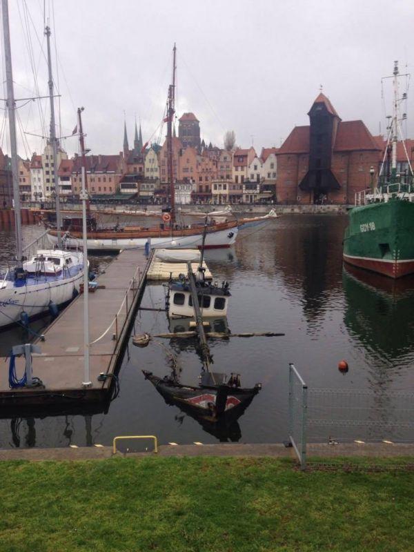 Polska próba zbudowania łodzi podwodnej.