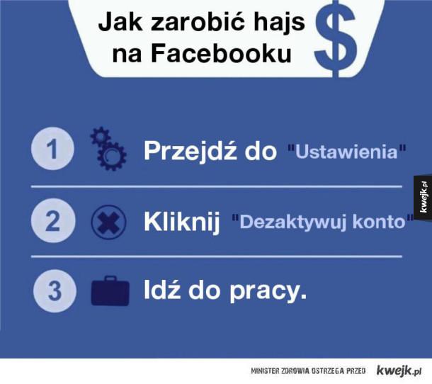 Jak zarobić na facebooku?