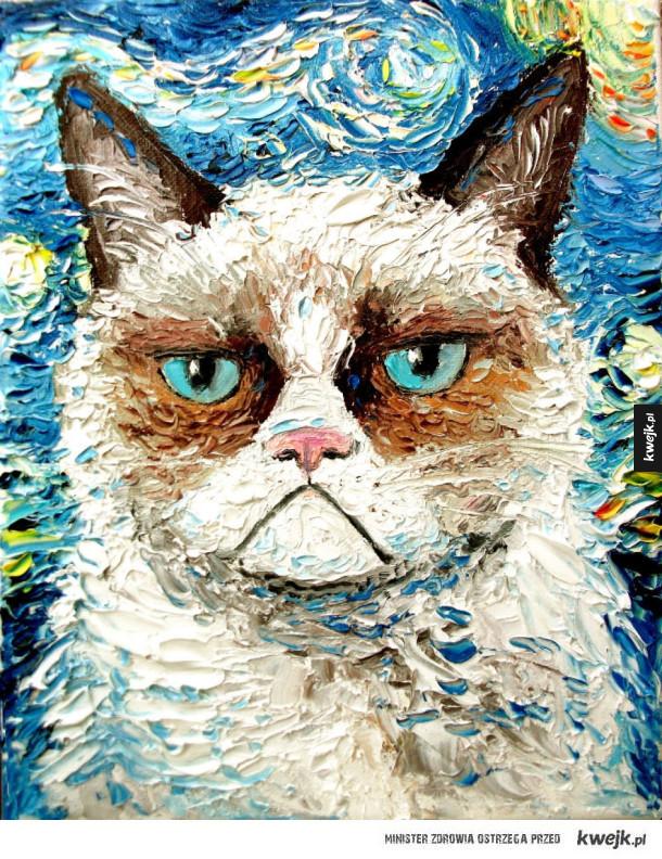 Postacie z popkultury na obrazach Van Gogha