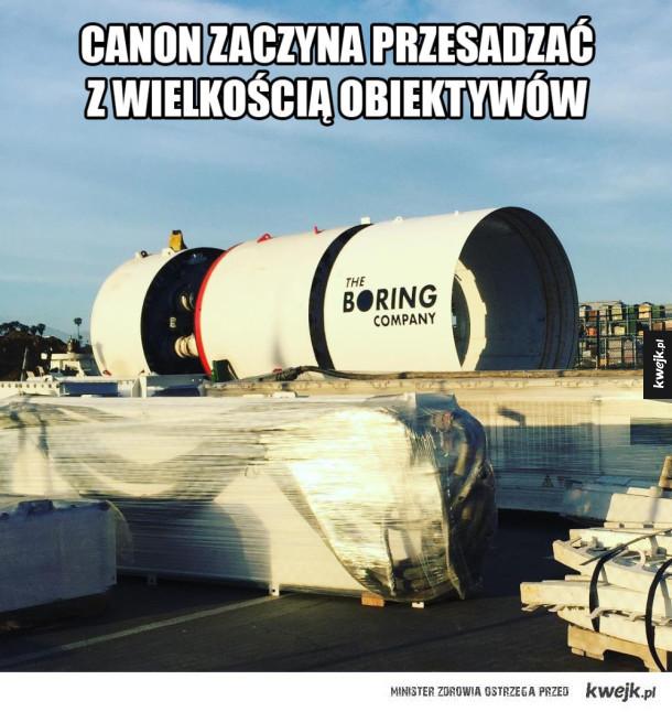Nowy obiektyw Canona
