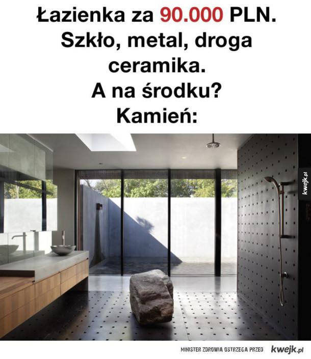 Łazienka na bogato