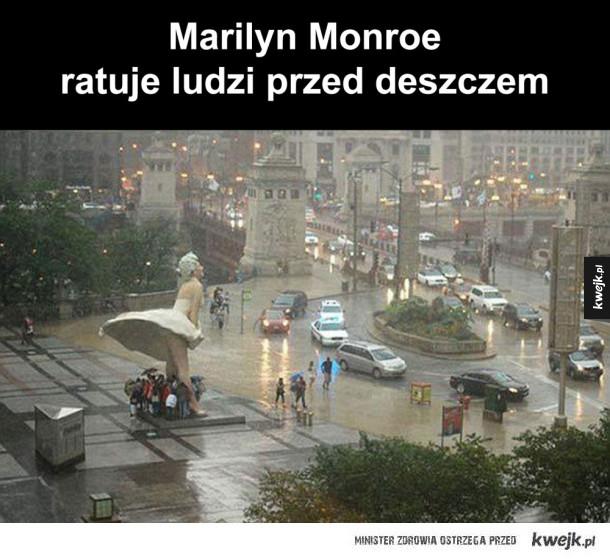 dobry ziomek Marilyn Monroe