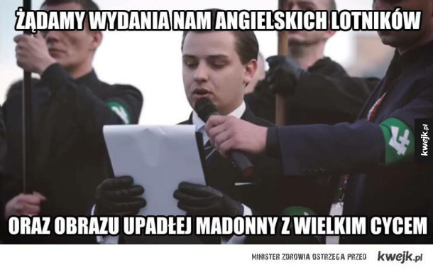Narodowcy w Warszawie
