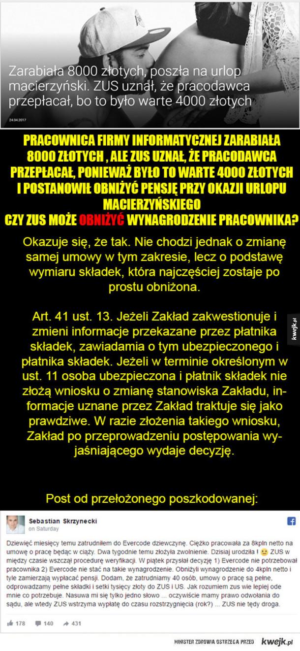 Zus Polakowi Zusem