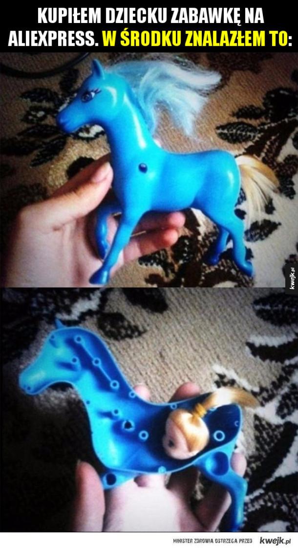 Zabawka z AliExpress