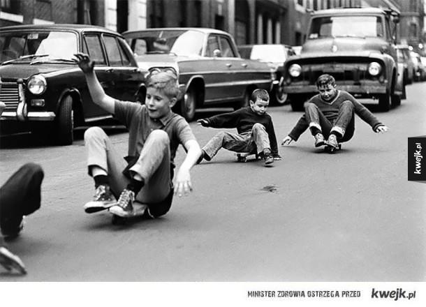 Dzieciństwo na długo przed wynalezieniem smartfonów
